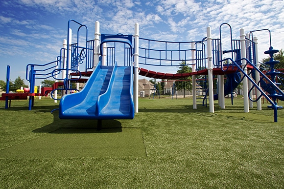 synthetic playground at voy spears elementary