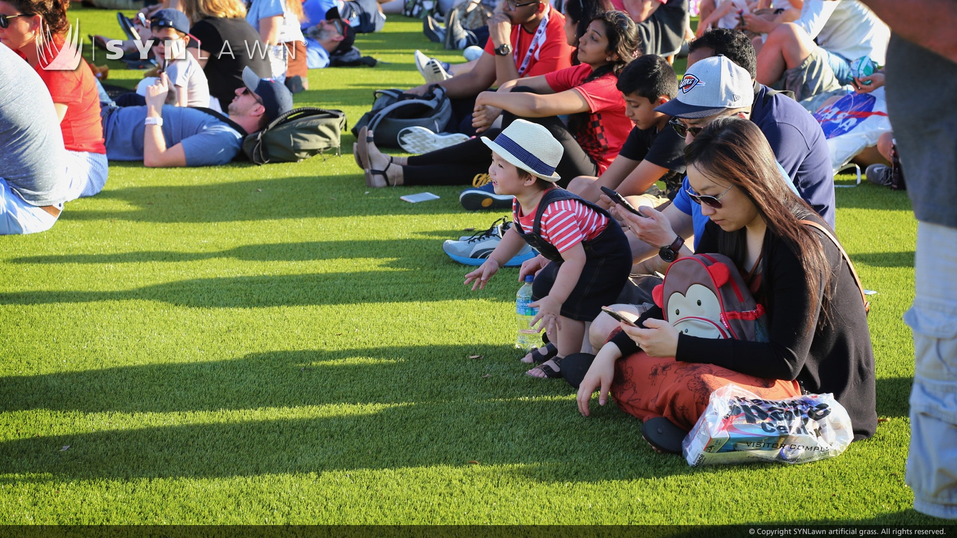 image of SYNLawn artificial grass at the Kennedy Space Center